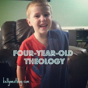 4 Year Old Theology