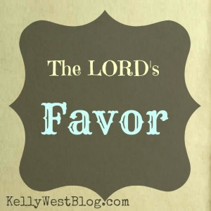 The LORDs Favor